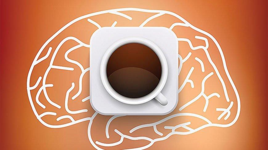 кофе замедляет снижение производительности мозга