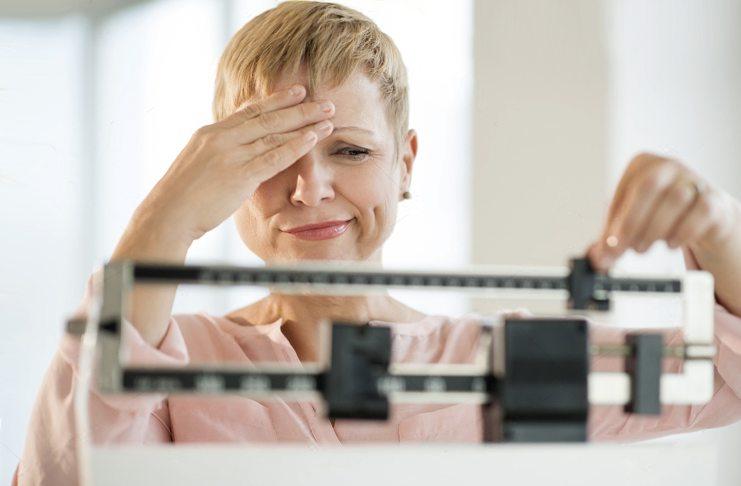 увеличение веса при менопаузе