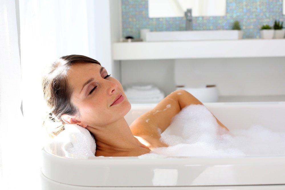 Длительная горячая ванна
